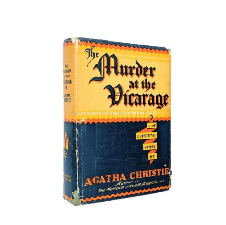 The Murder At the Vicarage by Agatha Christie First Edition Dodd Mead & Co. 1930